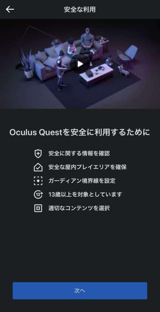 Oculus Questの動画