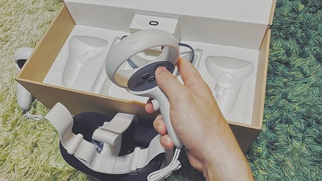 Oculus Quest2のコントローラー