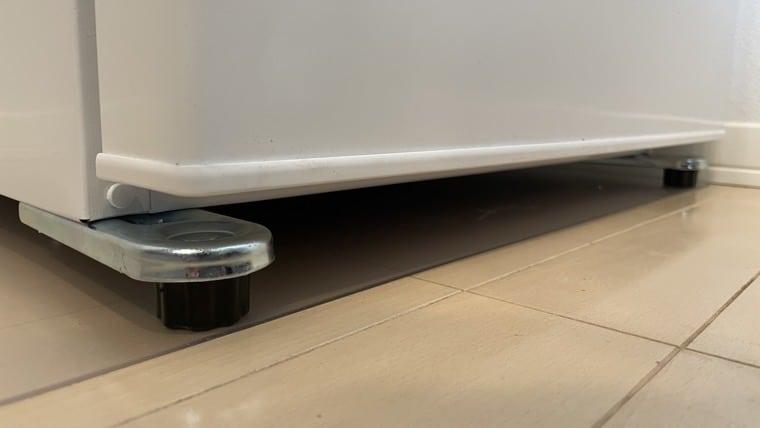 冷蔵庫の傷防止シート