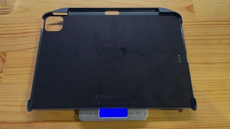 SwitchEasy-CoverBuddyの重さ